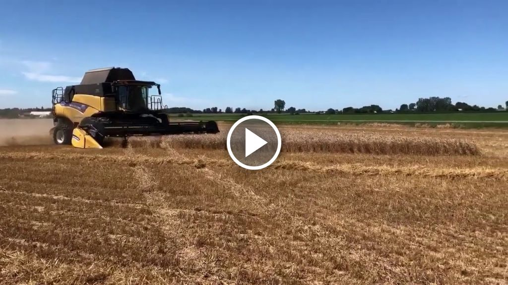 Video New Holland CR 7.90