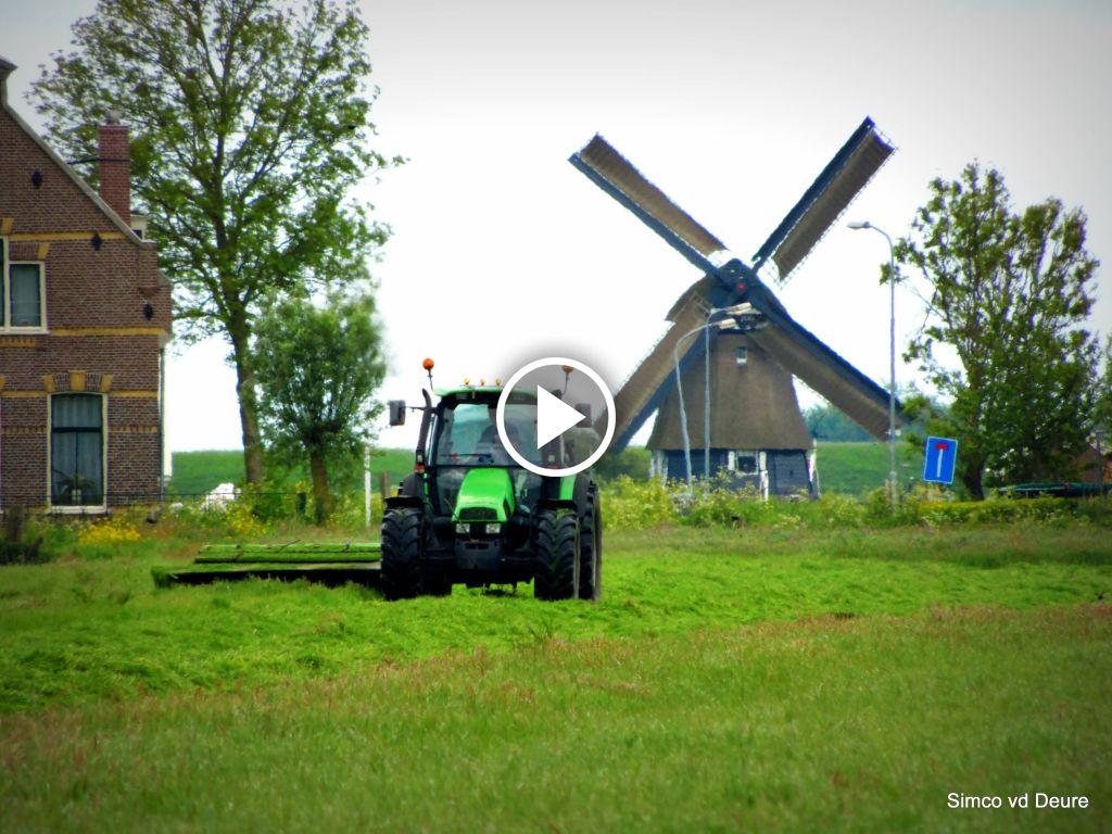 Video Deutz-Fahr Agrotron 85