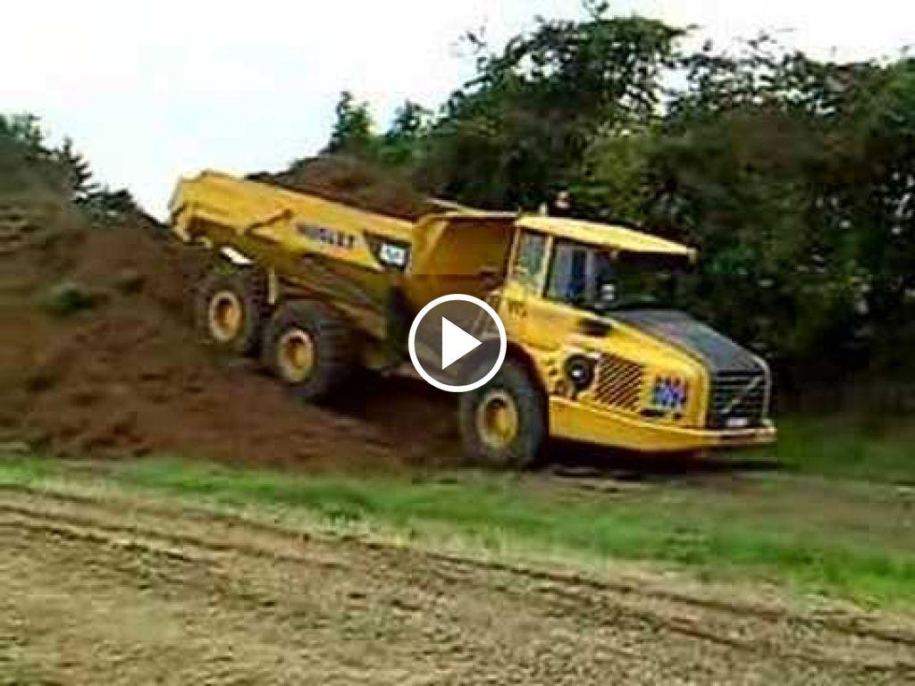 Video Volvo A25E