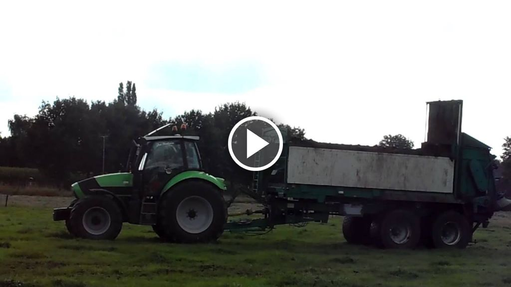 Video Deutz-Fahr Agrotron M 620