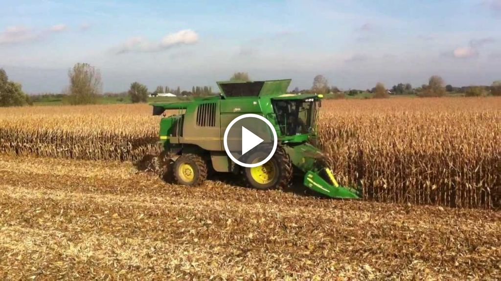 Wideo John Deere C 670i