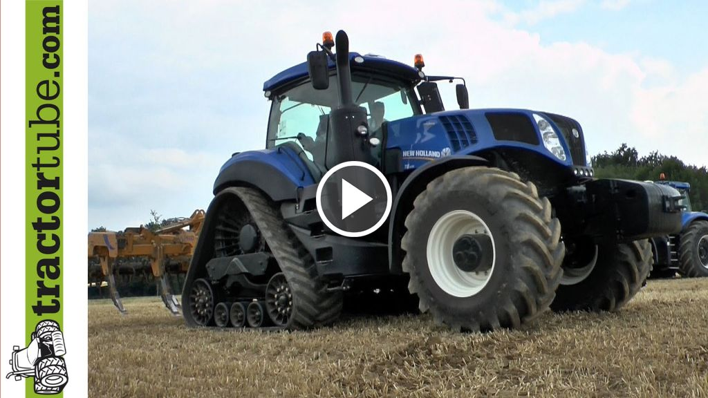 Video New Holland T 8 serie