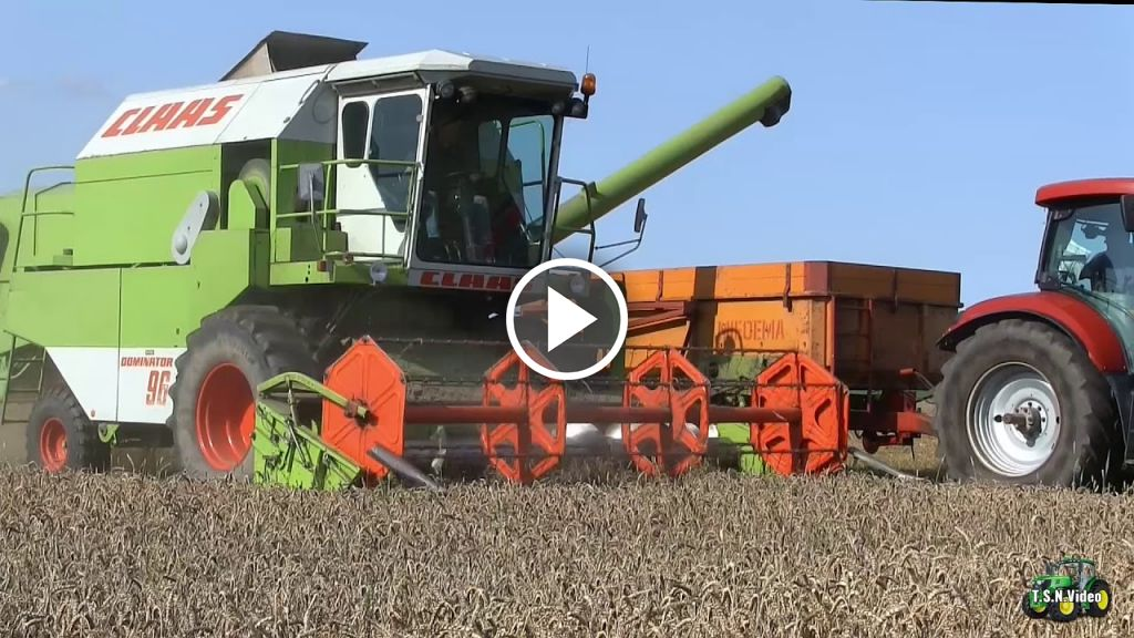 Video Claas Dominator 96
