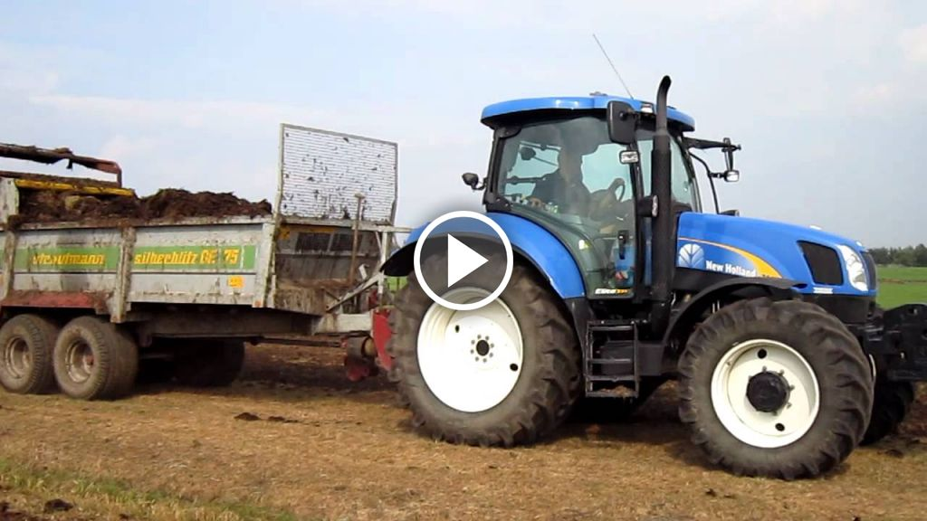 Video New Holland T 6060 Elite