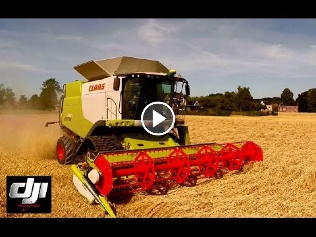 Video Claas Lexion 660
