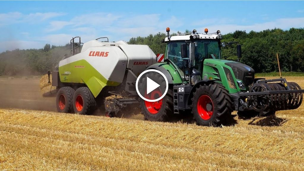 Video Claas Dominator 208 Mega