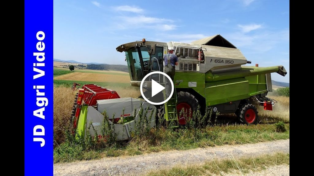 Video Claas Mega 350