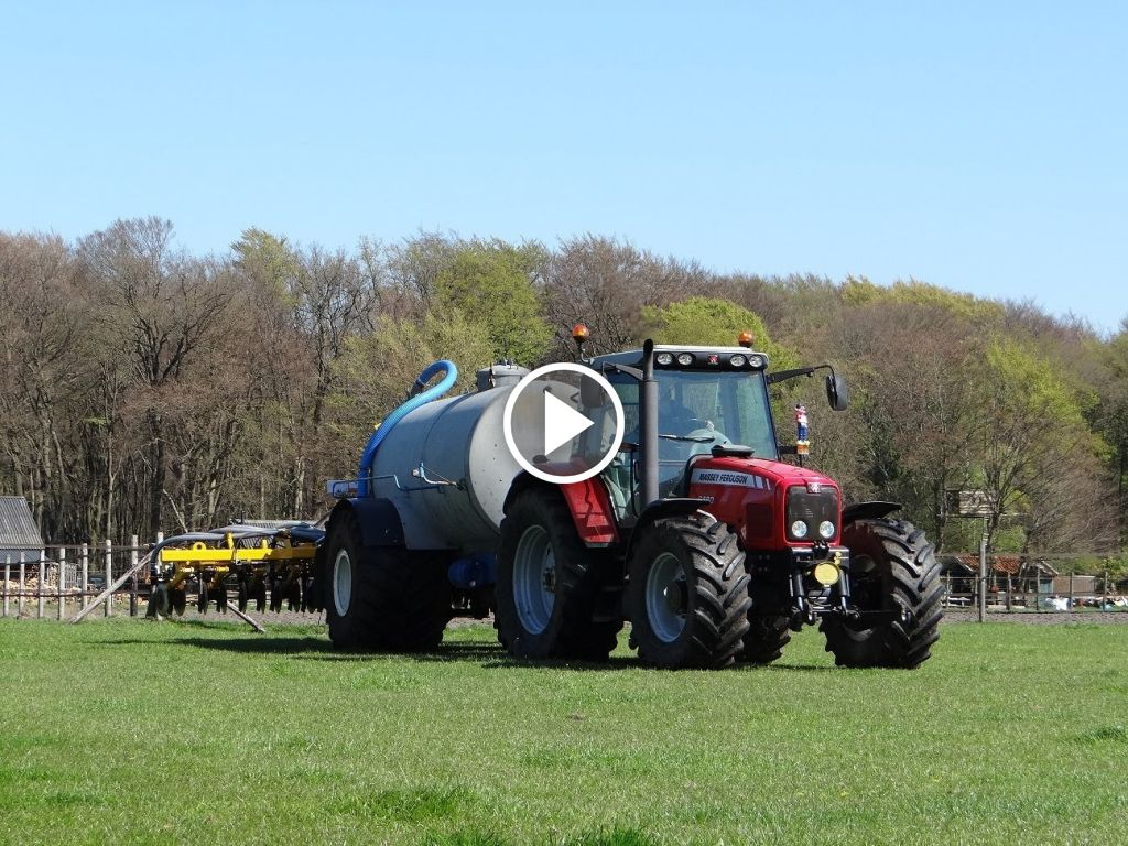 Vidéo Massey Ferguson 6480 Dyna-6