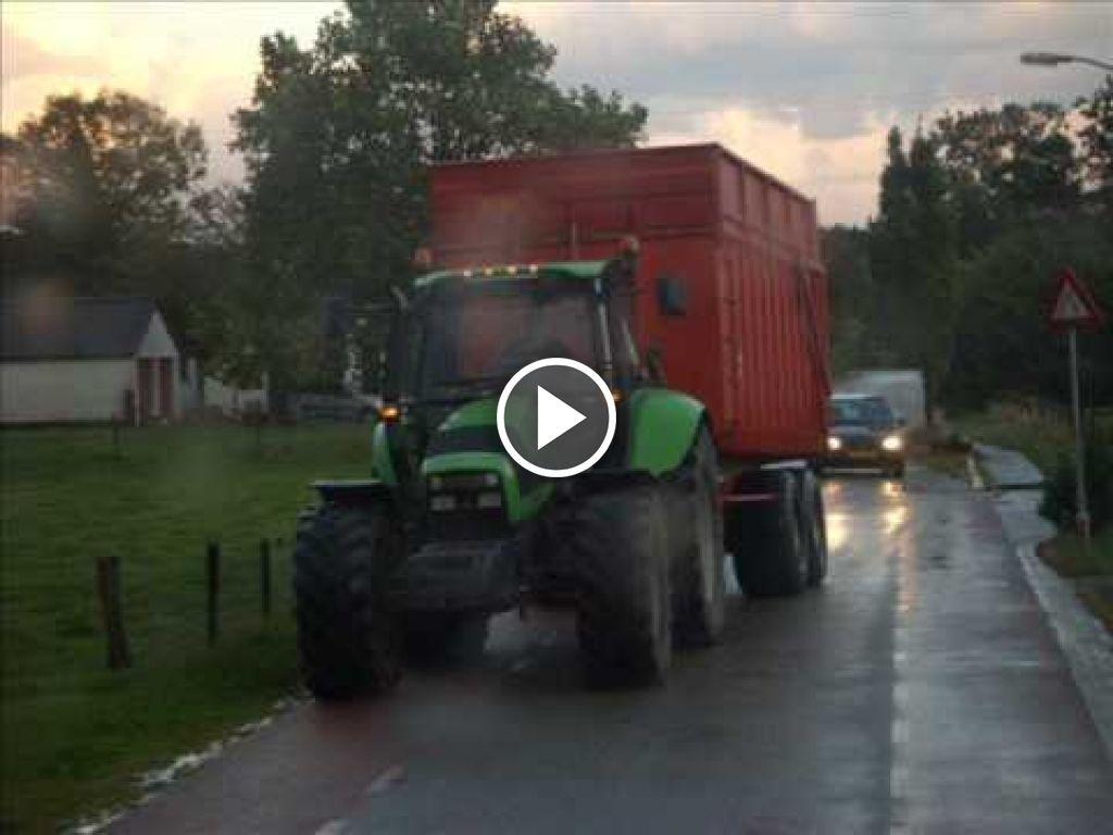 Видео Deutz-Fahr Agrotron 210