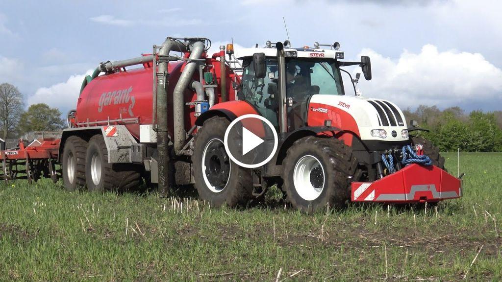 Videó Steyr CVT 6205