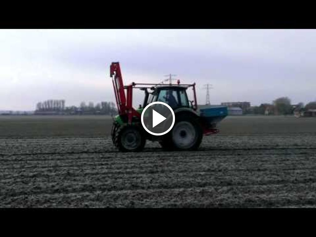 Video Deutz-Fahr Agrotron TTV 420
