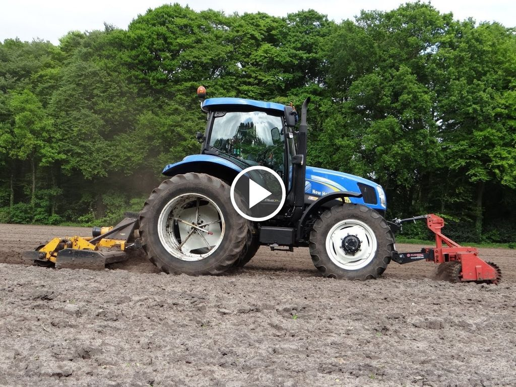 Video New Holland T 6010