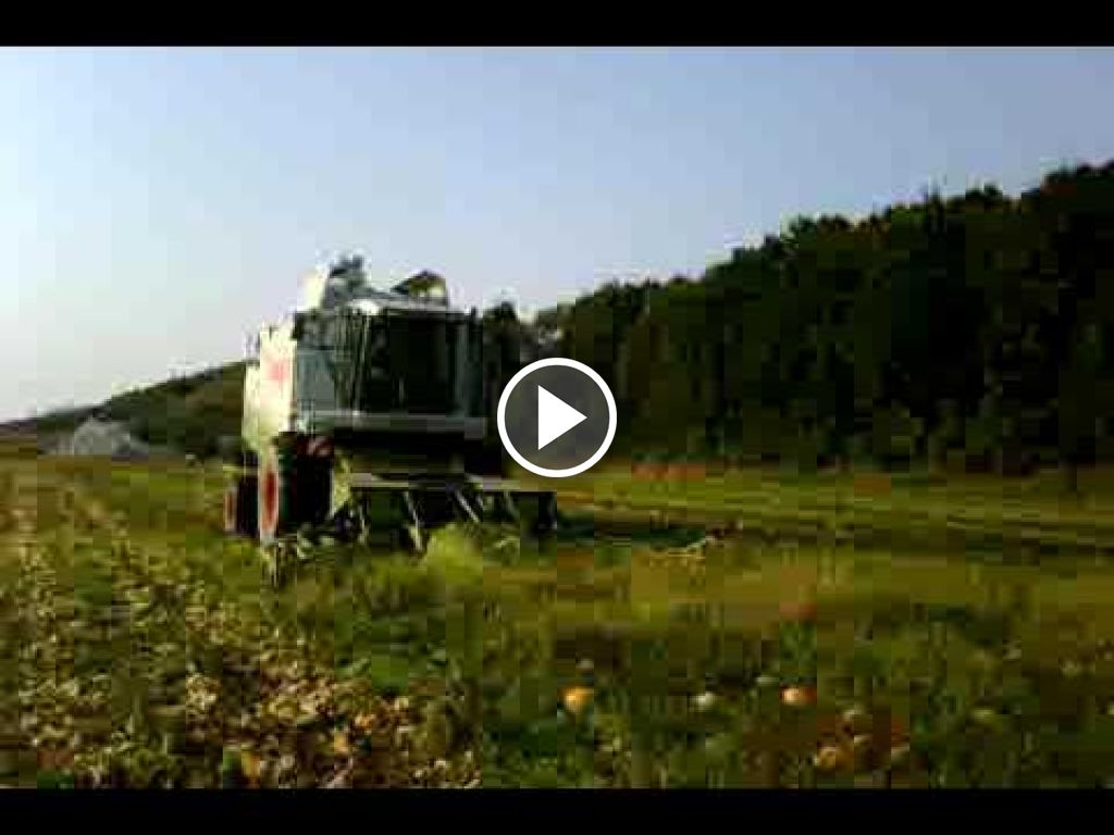 Video Claas Lexion 450