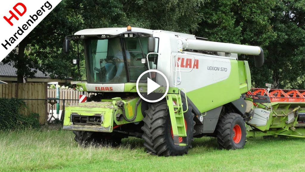 Video Claas Lexion 570