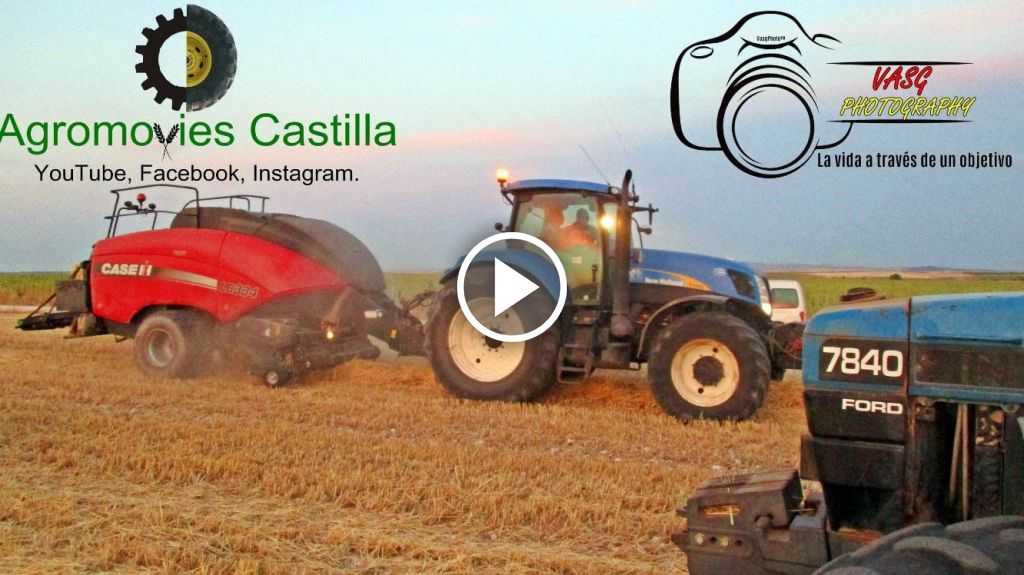 Video New Holland T 7050