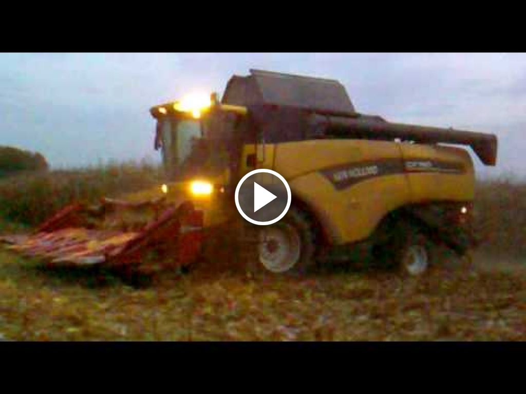Video New Holland CX 760