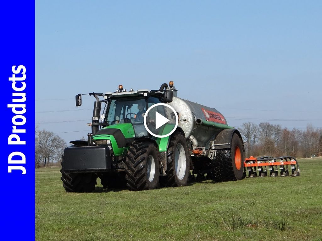 Video Deutz-Fahr Agrotron K 410