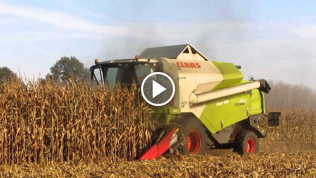 Video Claas Tucano 450