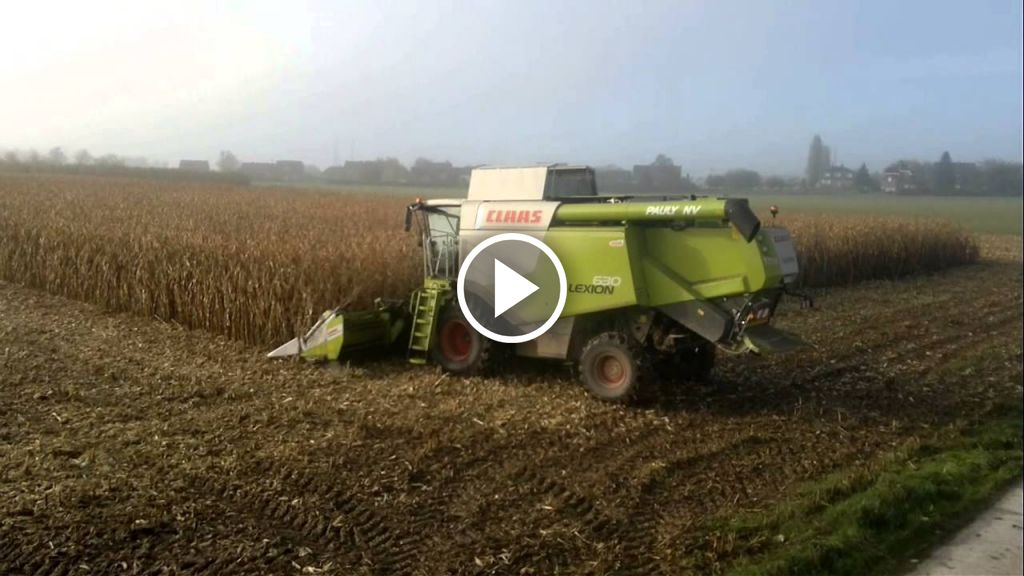 Video Claas Lexion 630