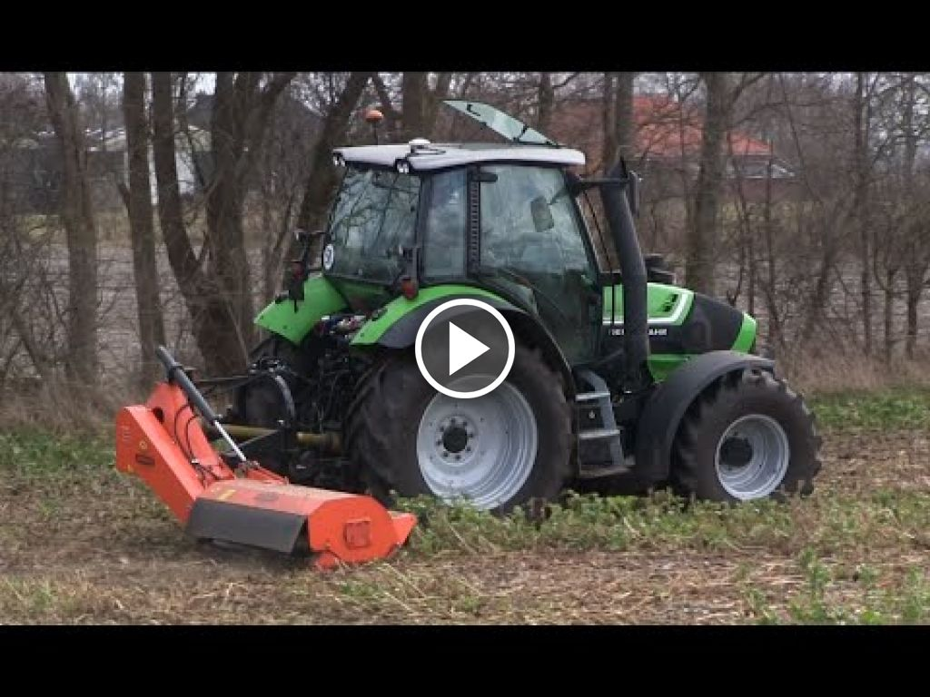 Video Deutz-Fahr agrotron TTV 430