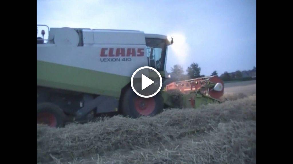 Video Claas Lexion 410