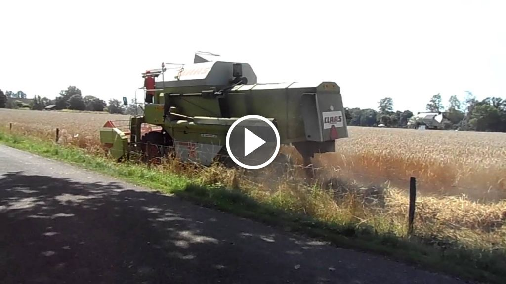 Video Claas Dominator 78