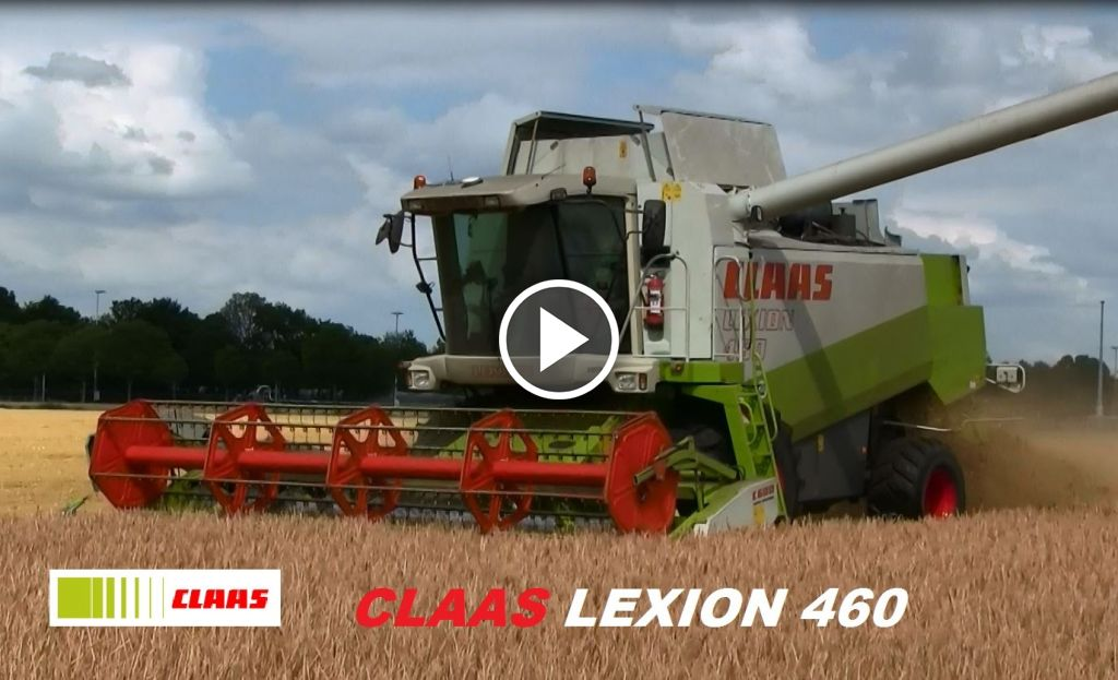 Video Claas Lexion 470