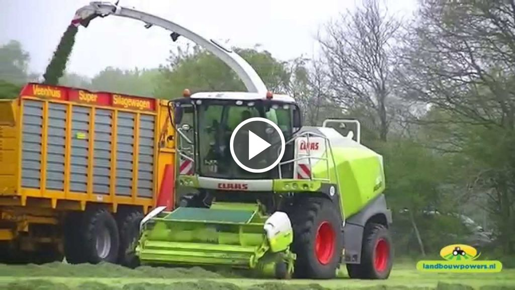 Video Claas Jaguar 870 2014