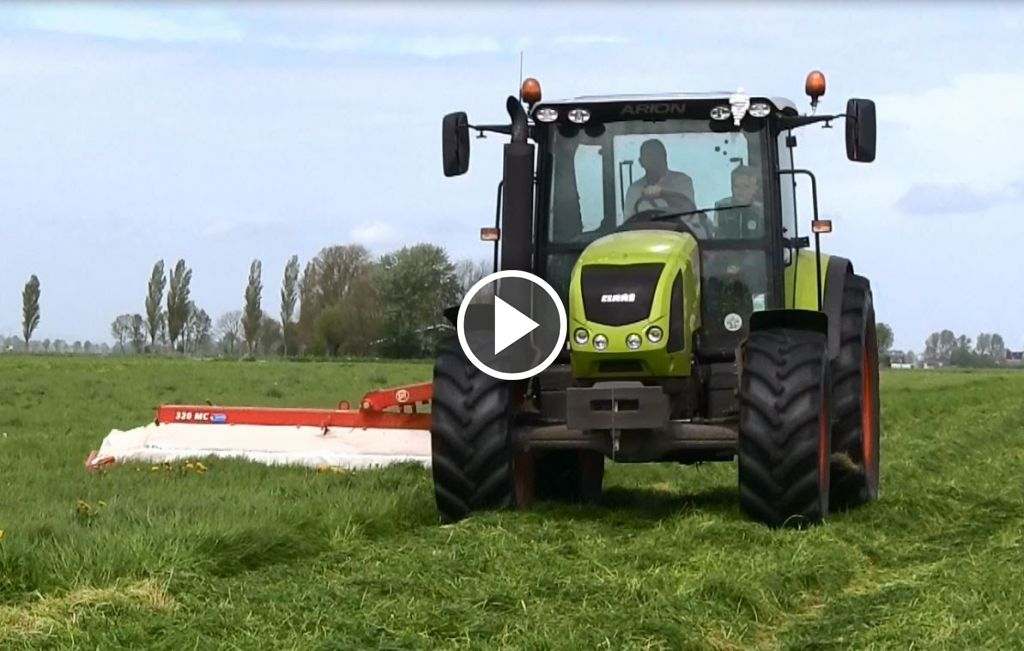 Video Claas Arion 410