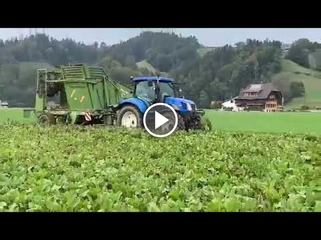 Video New Holland T 6020