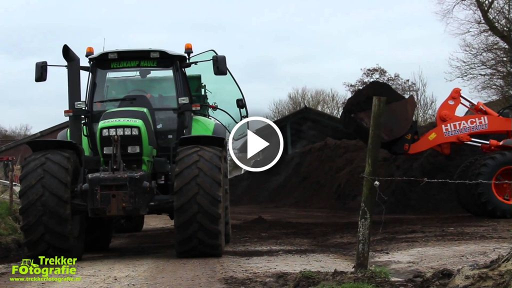 Video Deutz-Fahr Agrotron M 650