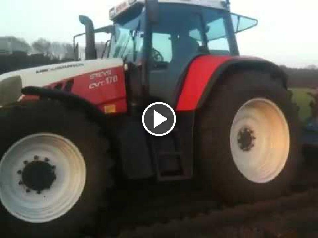 Videó Steyr CVT 170