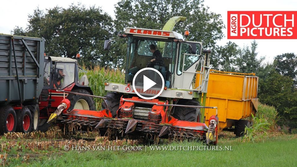 Video Claas Jaguar 695 SL