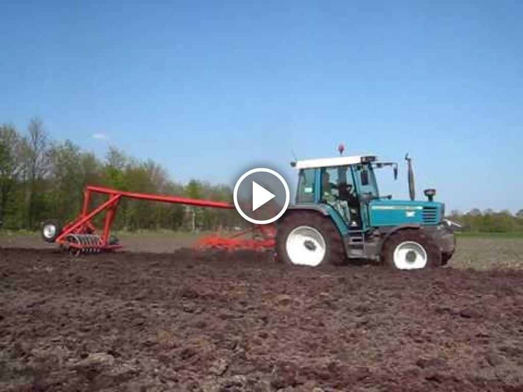 Video Fendt 308 Holland Farmer