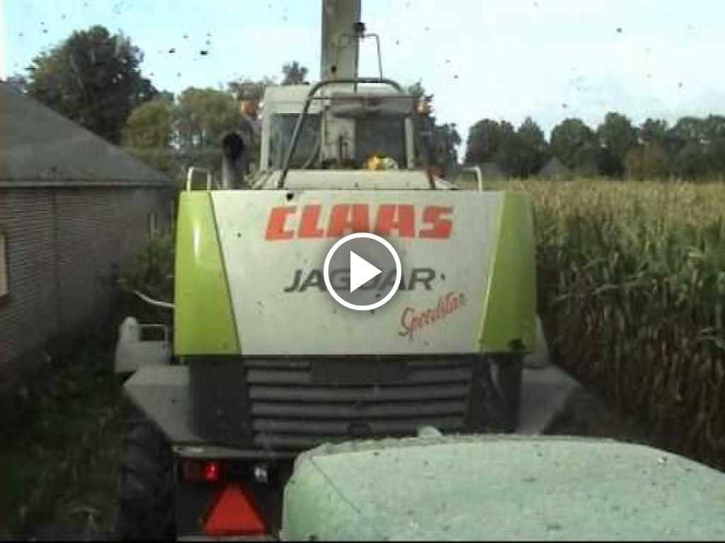 Video Claas Jaguar 870 Greeneye