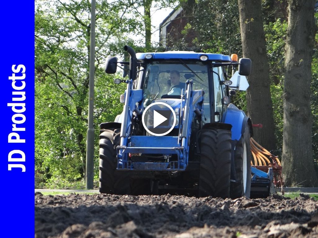 Video New Holland T 6.155