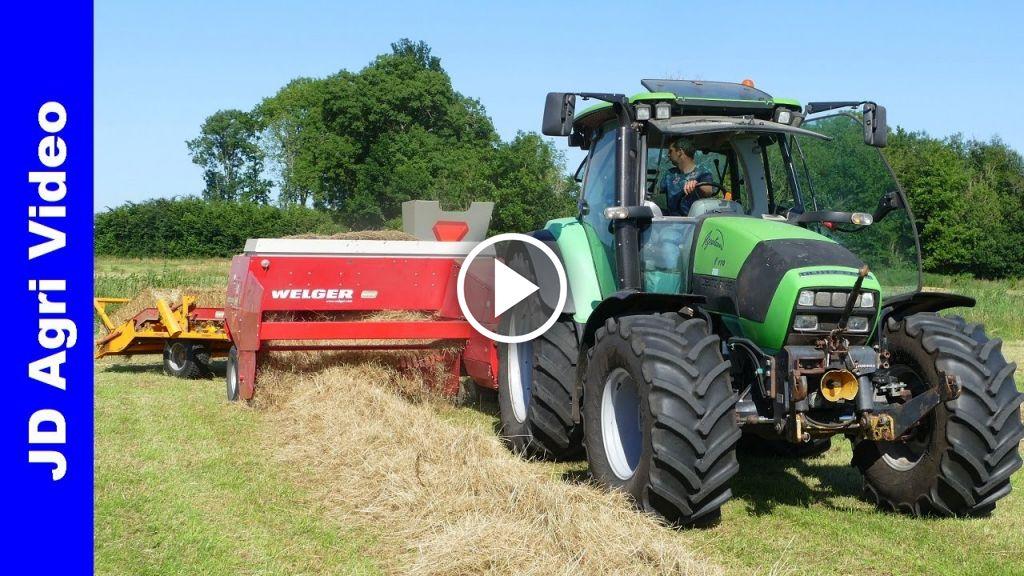 Video Deutz-Fahr Agrotron K 110