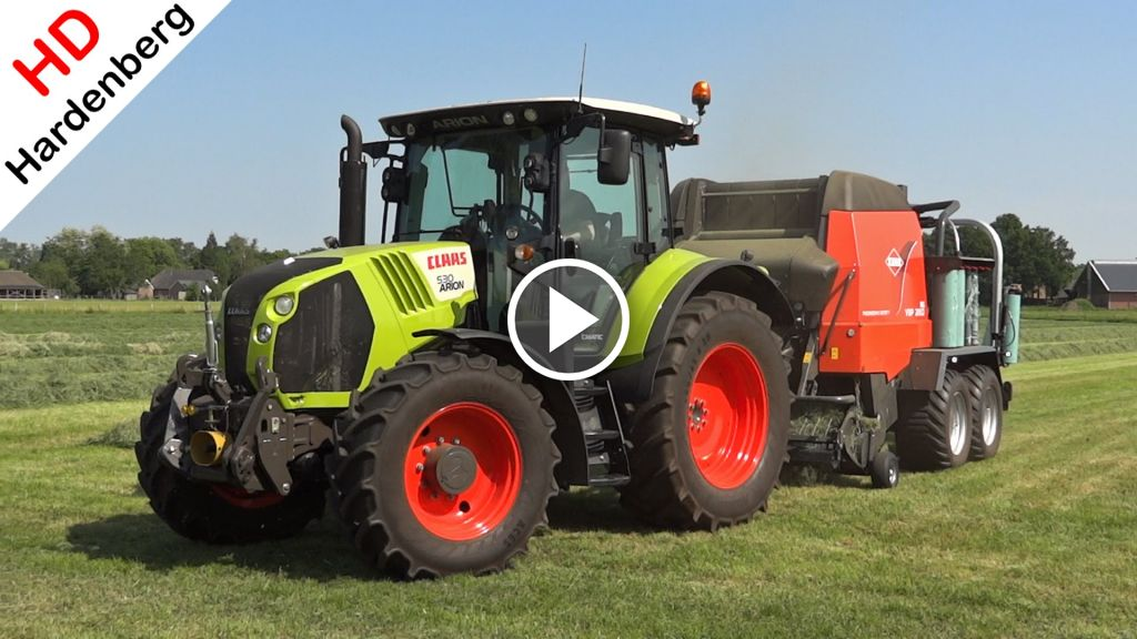 Video Claas Arion 530
