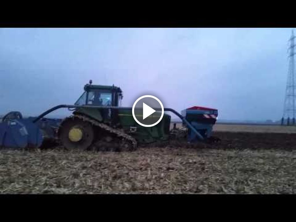 Video John Deere 8200 T