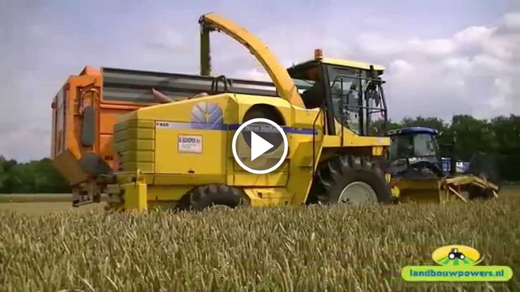 Video New Holland FX 60