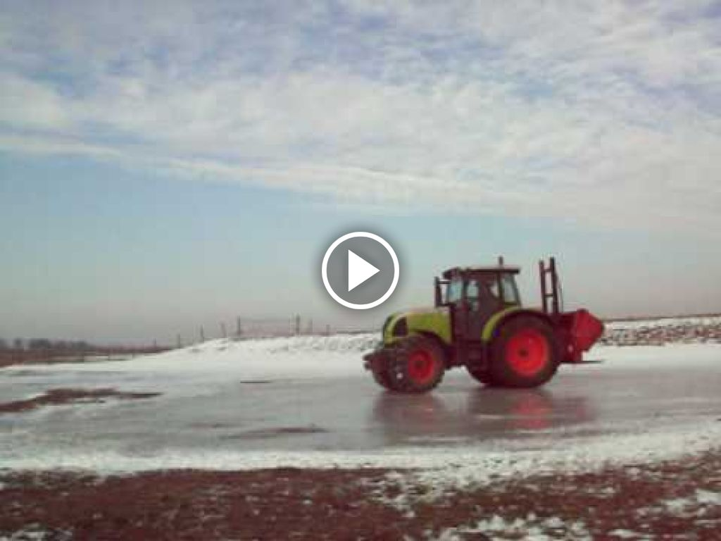 Video Claas Ares 577 ATZ