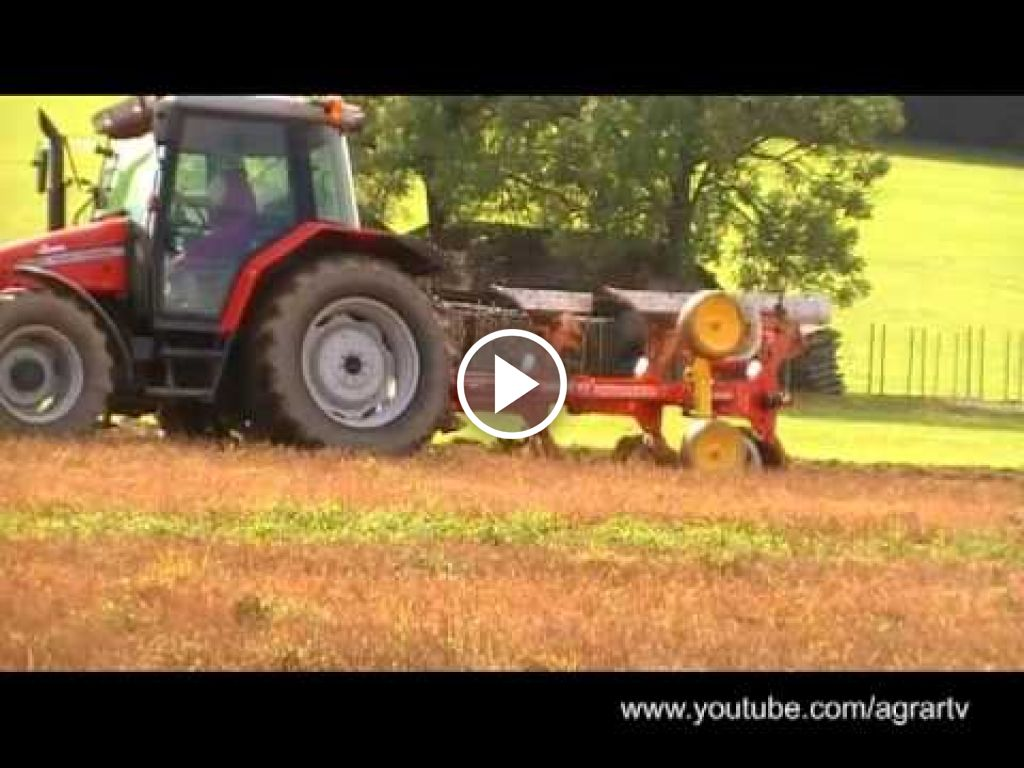 Vidéo Massey Ferguson 6245