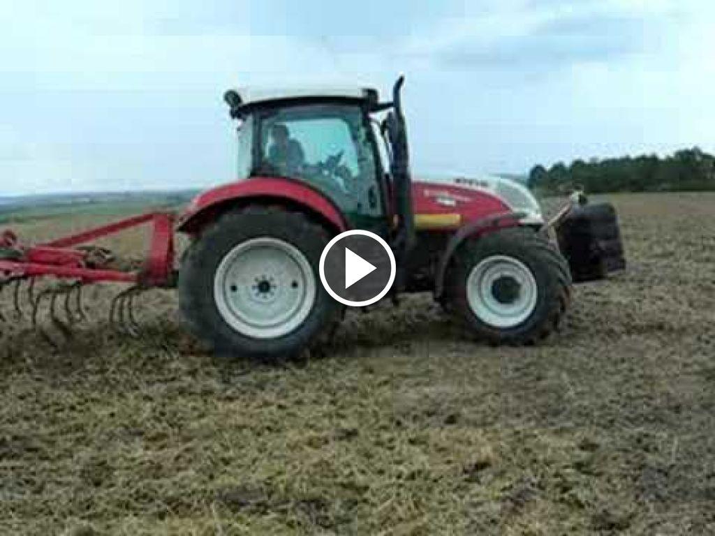 Videó Steyr CVT 6135