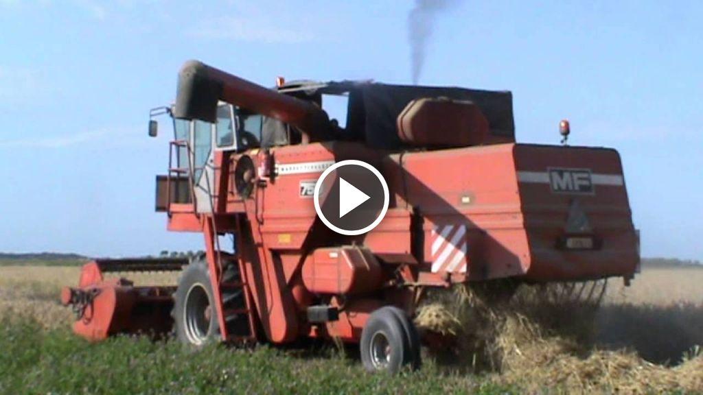 Vidéo Massey Ferguson 750