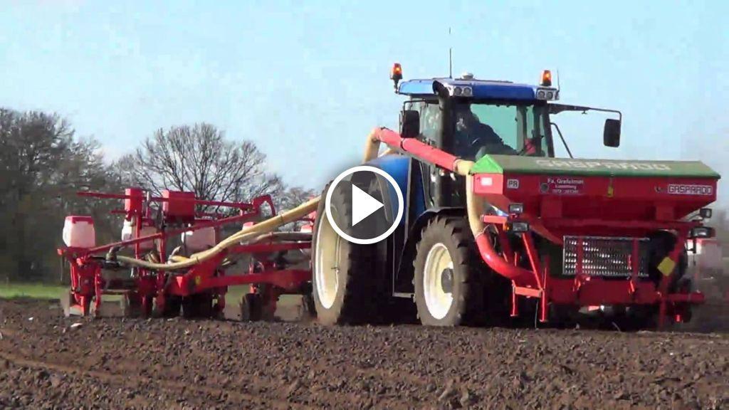 Video New Holland TVT 155