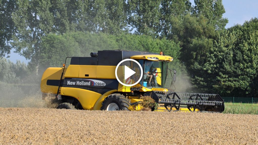 Video New Holland CS 640