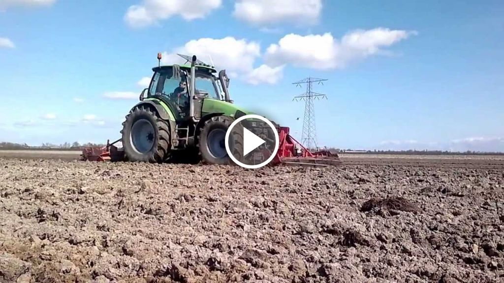 Video Deutz-Fahr Agrotron 135