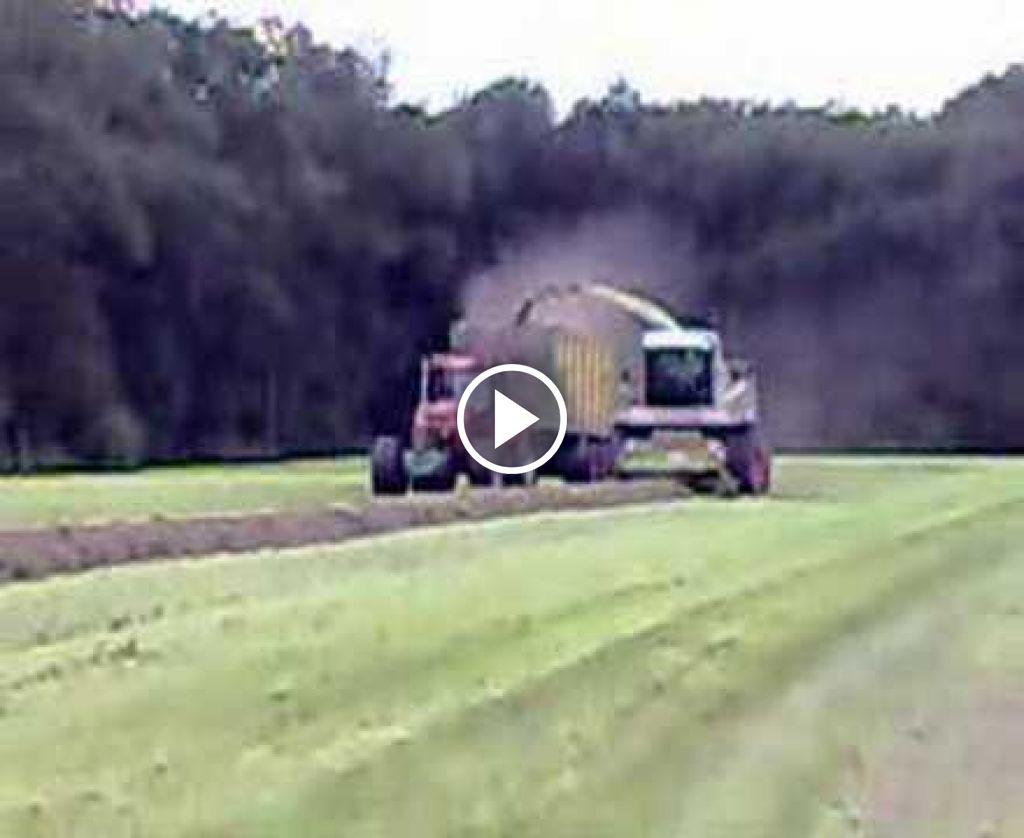 Video Claas Jaguar 860
