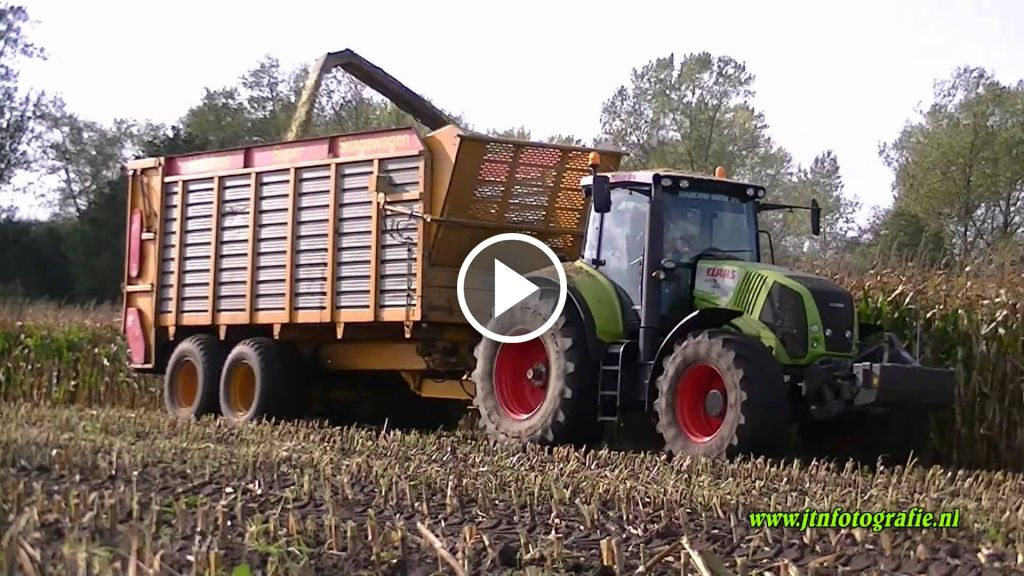 Video Claas Axion 850