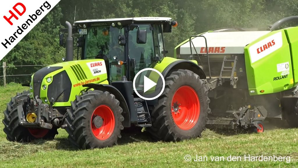 Video Claas Arion 650